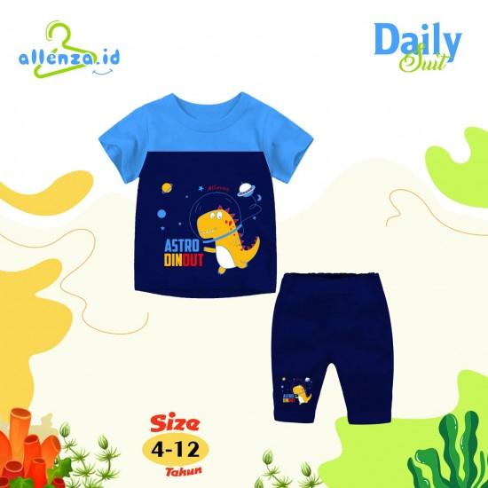 Baju Anak Daily Suit Allenza Boys Turkis Navy