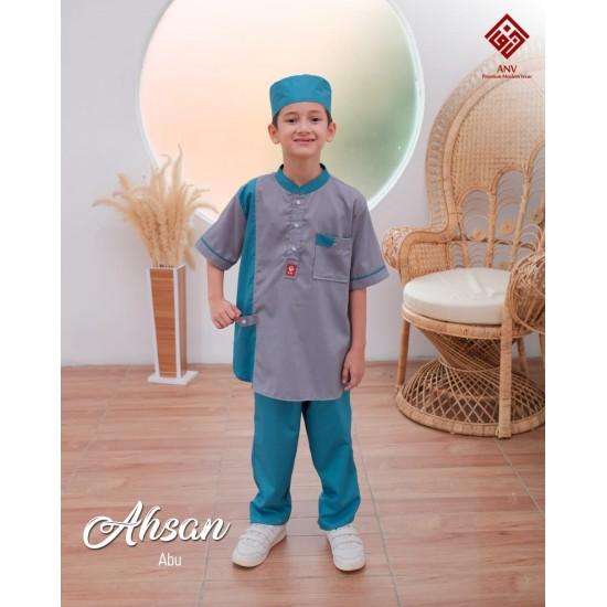 Koko Anak Ahsan Series Abu