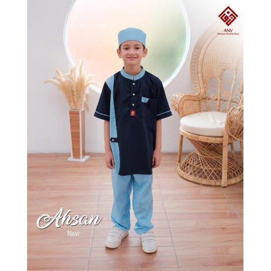 Koko Anak Ahsan Series Navy