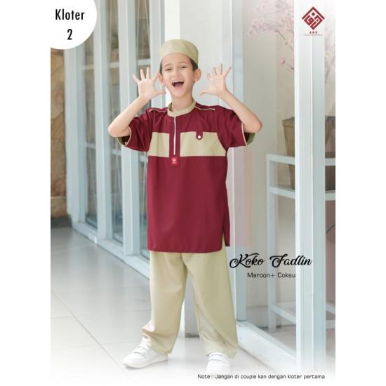 Koko Anak Fadlin Series Maroon - Coksu