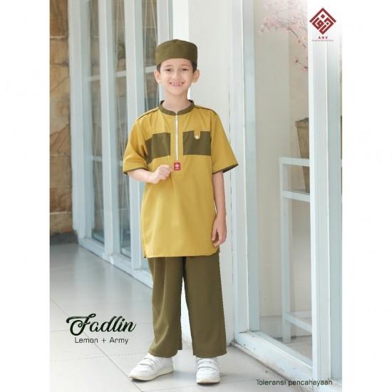 Koko Anak Fadlin Army - Hijau Lime