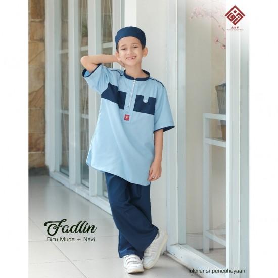 Koko Remaja Fadlin Navy - Biru Muda