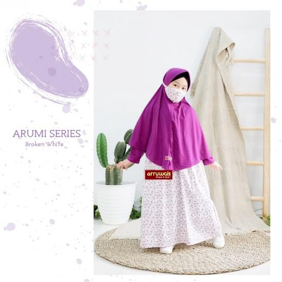Gamis Anak Arumi Series Boken White