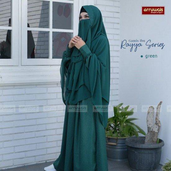 Gamis Dewasa Raya Green