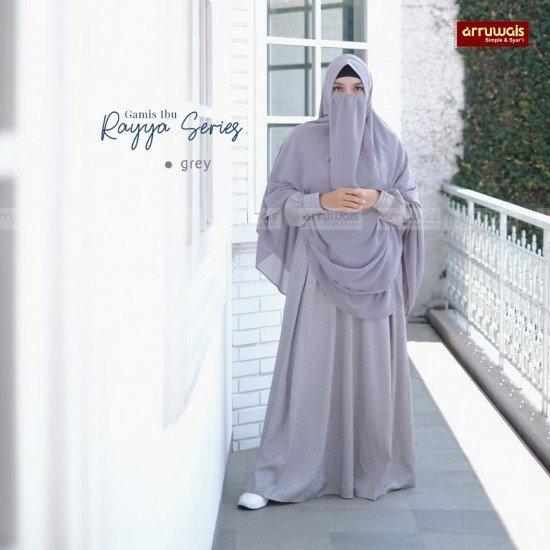 Gamis Dewasa Raya Grey