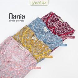 Home Dress Remaja Nania Series Lengan Pendek