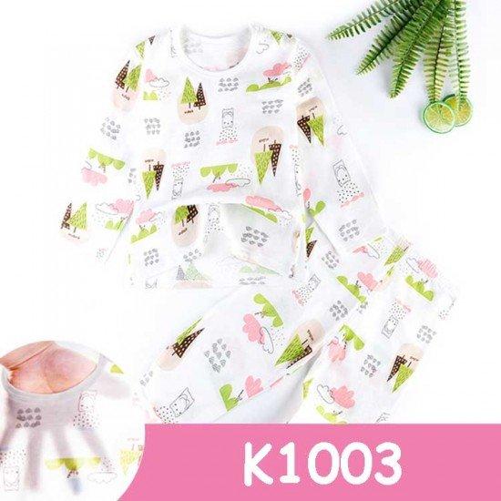 Baju Tidur Anak Lengan Panjang K1003