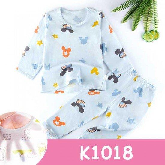 Baju Tidur Anak Lengan Panjang K1018