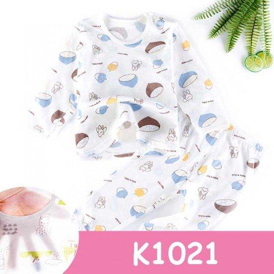 Baju Tidur Anak Lengan Panjang K1021