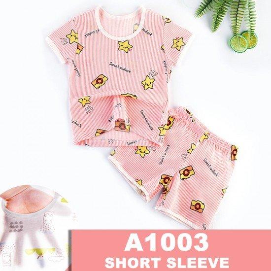 Baju Tidur Anak Lengan Pendek A1003