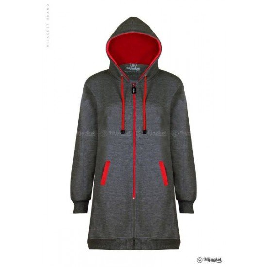 Hijacket Basic Misty Red