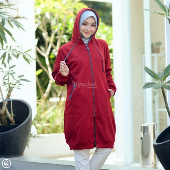 Hijacket Basic Maroon Misty