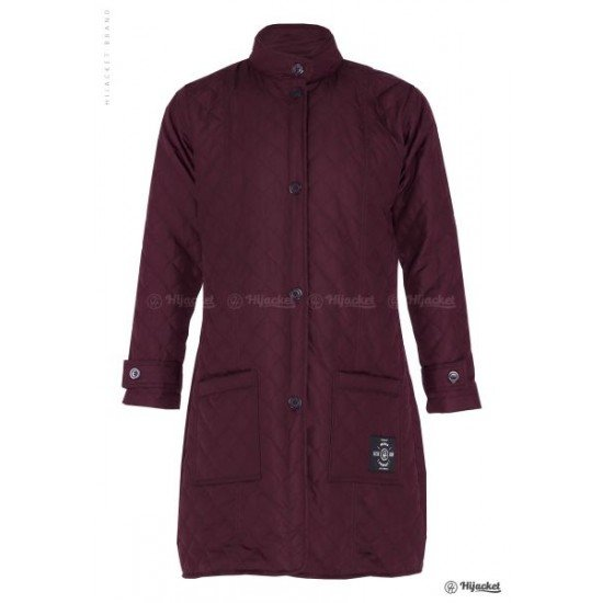 Hijacket Belva Red Burgundy