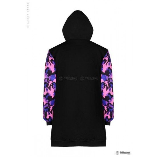Hijacket Camouflashion Black Purple