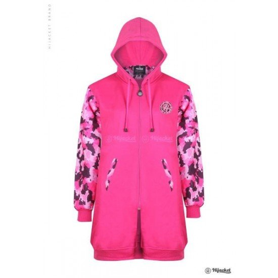 Hijacket Camouflashion Rose Pink