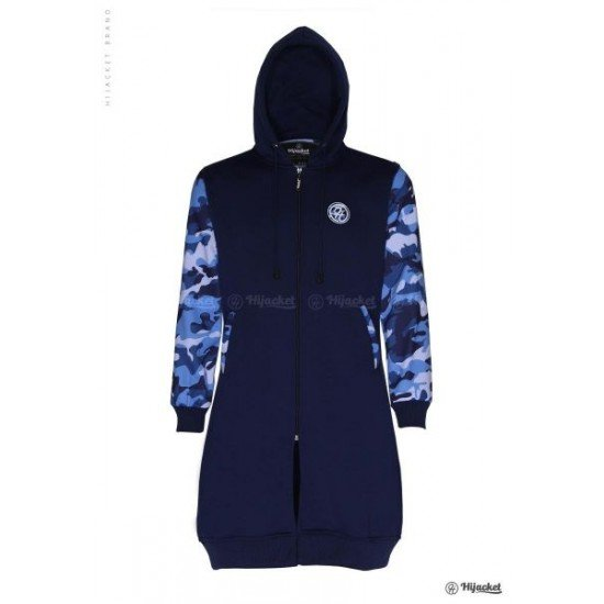 Hijacket Camouflashion Royal Blue