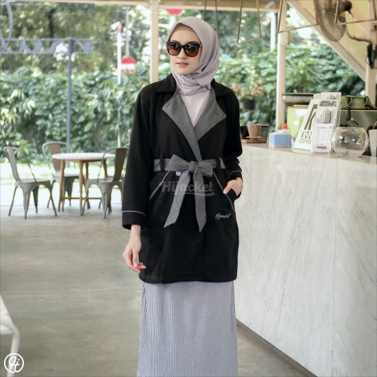 Hijacket Elnara Raven Black