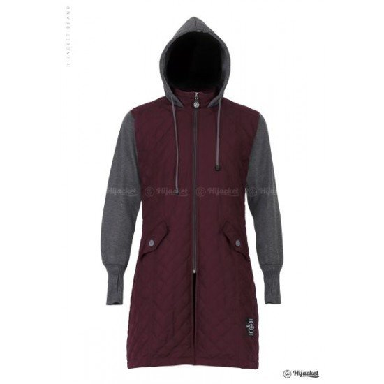 Hijacket Graciella Maroon