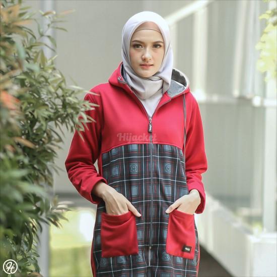 Hijacket Shaqila Maroon
