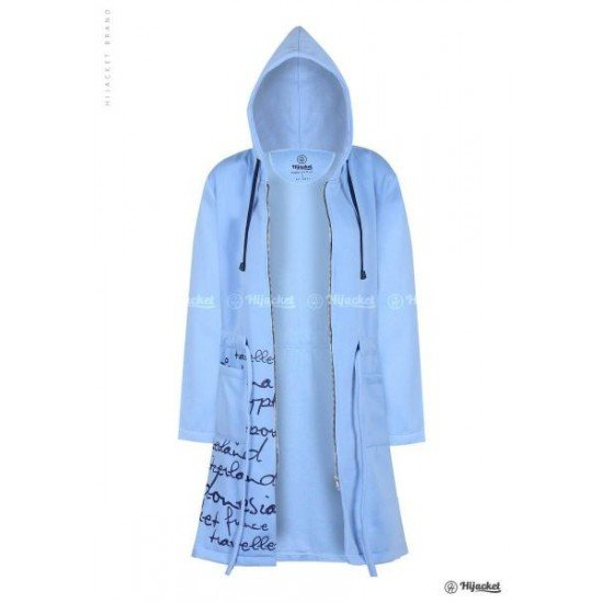Hijacket Urbanashion Sky Blue