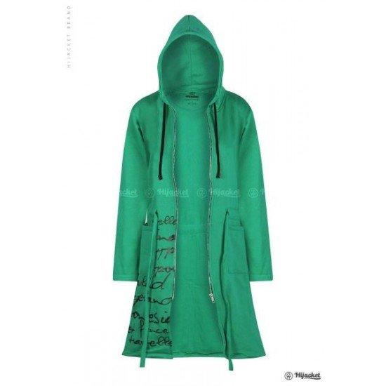 Hijacket Urbanashion Turquoise