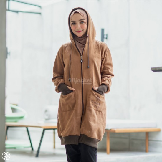 Hijacket Yukata Brown