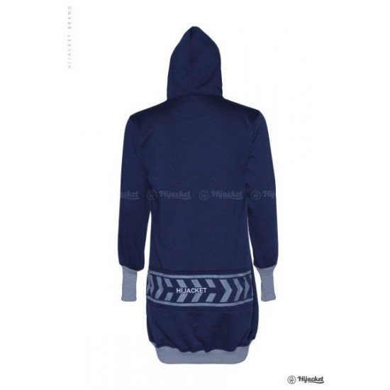 Hijacket Yukata Royal Blue