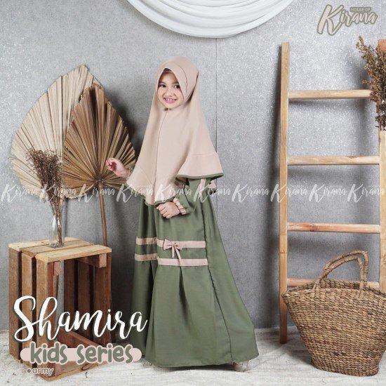 Gamis Anak Shamira Series Army