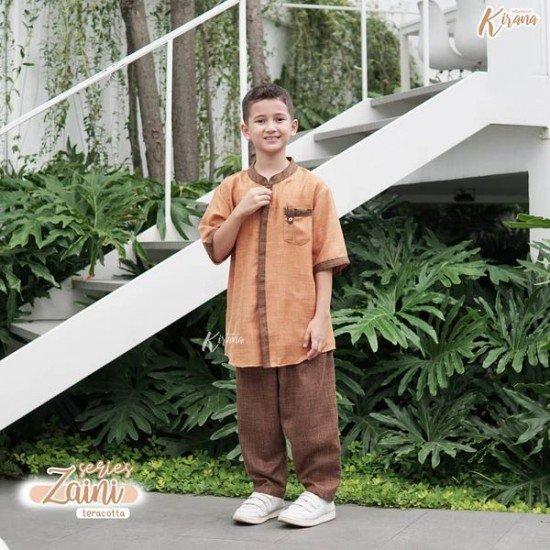 Koko Anak Zaini Series Teraccota