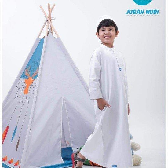 Gamis Remaja Jubah Junior White