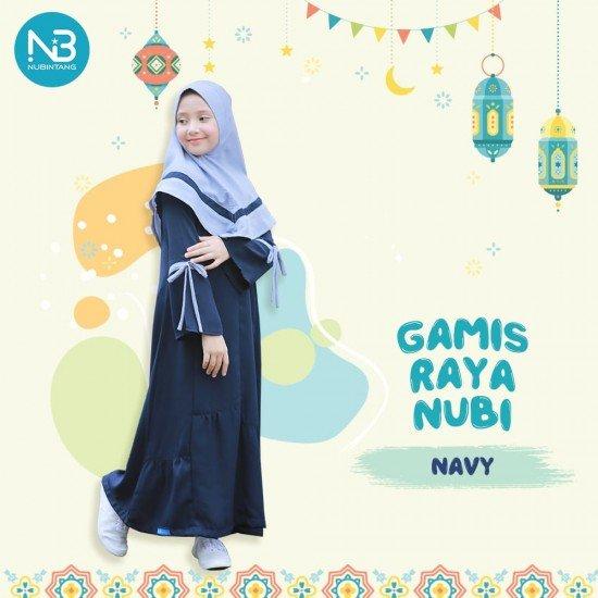 Gamis Remaja Raya Junior Navy