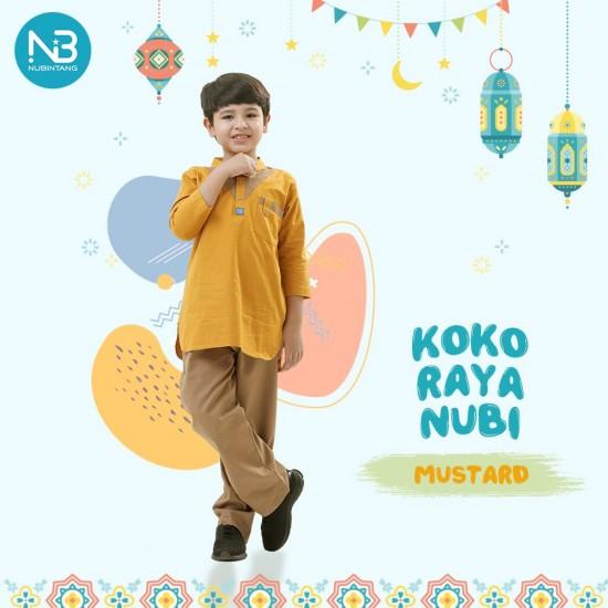 Koko Anak Raya Kids Mustard