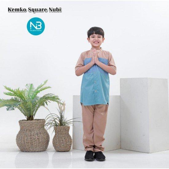 Koko Anak Square Series Biru