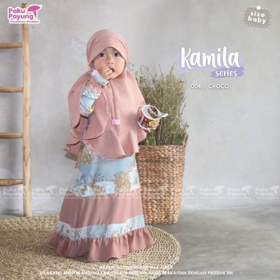 Gamis Anak Kamila Series Choco