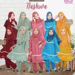 Gamis Remaja Nashwa Series