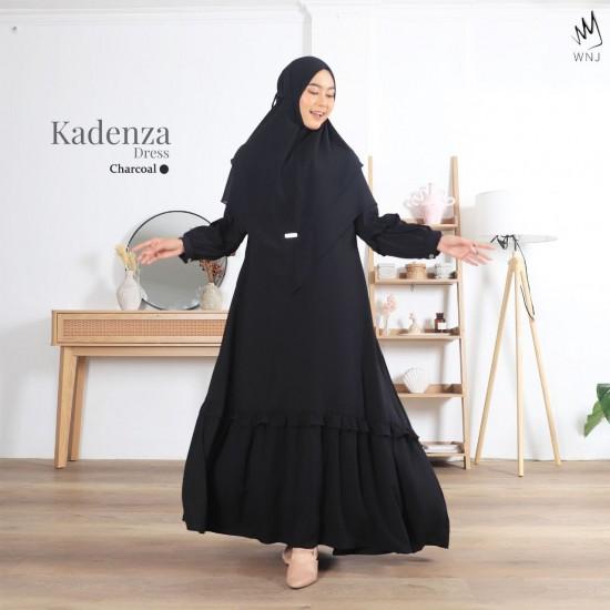 Gamis Dewasa Kadenza Dress Charcoal Black