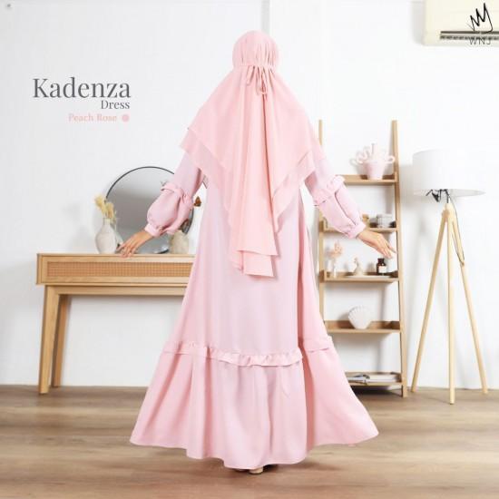 Gamis Dewasa Kadenza Dress Peach Rose