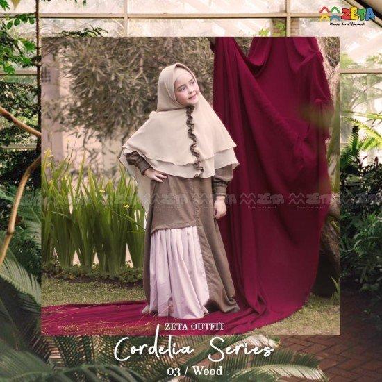 Gamis Anak Cordelia Wood